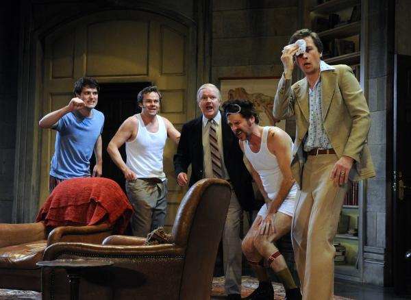 James Dutton (Taylor), Jamie Glover (Headingly), Simon Coates (Tate), Jason Durr (Qui Photo